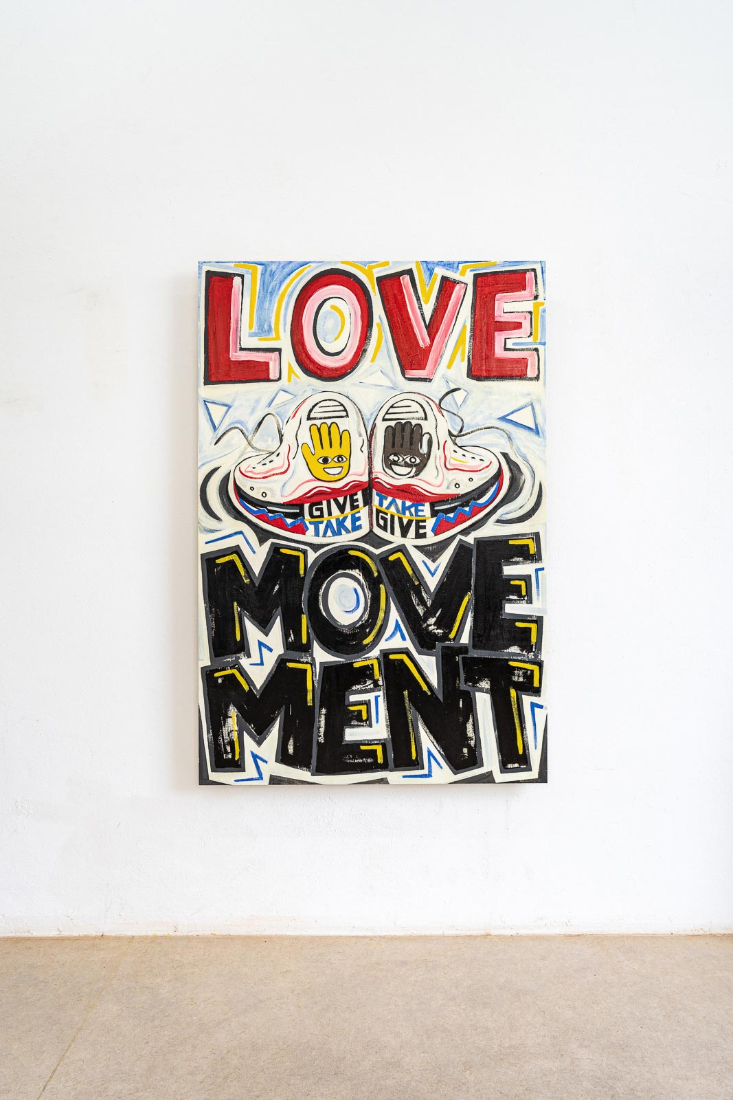 Pierre von Helden – Malerei – Love Movement